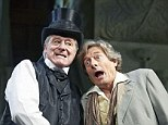 Old pros: Martin Jarvis and Nigel Havers star in Simon Brett's The Importance Of Being Earnest