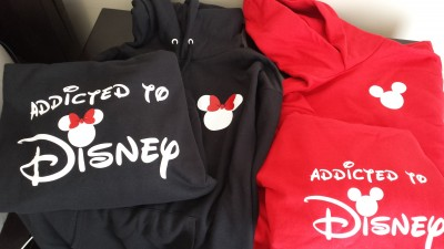 married with mickey shirts shot