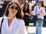 Nikki Reed, 26, was spotted shopping with a friend in Beverly Hills on Thursday