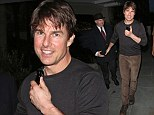 He¿s still got it! Tom Cruise looks youthful as he dines at Scott's restaurant in London on Thursday evening