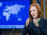 Business as usual: State Department spokesperson Jen Psaki, pictured here conducting her daily briefing for reporters on June 16, 2014, is under fire for not taking more seriously an attack on a plane that killed nearly two dozen Americans