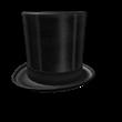 Shiny Black Top hat
