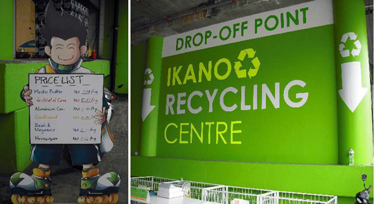 ikano power center recycle center