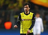 Crucial: Hummels will be sorely missed at Dortmund if he leaves