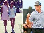 Caroline Wozniacki takes veiled dig at Rory McIlroy\nOpen Championship leader's ex-fiancee posts picture of herself in high heels and says she couldn't wear them for three years, the length of their relationship\nSource: Instagram