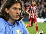 New arrival: Filipe Luis has spoken out about his delight at joining Chelsea