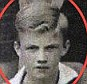 Born winner: New Man United manager Louis van Gaal (circled) poses with his school football team in 1967