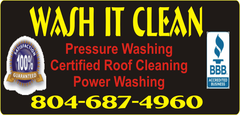 Wash It Clean Safe Non Pressure Roof Cleaning Richmond VA