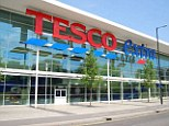 Turmoil: Incoming chief executive Dave Lewis saw Tesco shares drop 4% today.