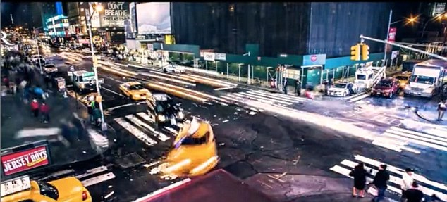 All action: Nowak used his experience from working on commercials and feature films to capture New York
