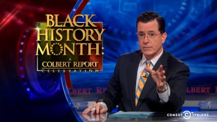 Steven Colbert And The Rise (And Coming Fall) Of The White Minstrel Show