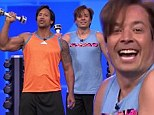 A Rock solid duo! Dwayne Johnson teams up with Jimmy Fallon for fitness skit on The Tonight Show