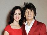 Family hopes: Sally Wood admits she would like children with husband Ronnie