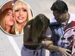 Love Game: Joe Manganiello has girlfriend Sofia Vergara in fits of laughter as the pair enjoy a fun-filled date night at Lady Gaga's Artpop Ball concert