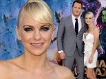 Her own superhero! Anna Faris steps out with husband Chris Pratt for the premiere of his film Guardians Of The Galaxy