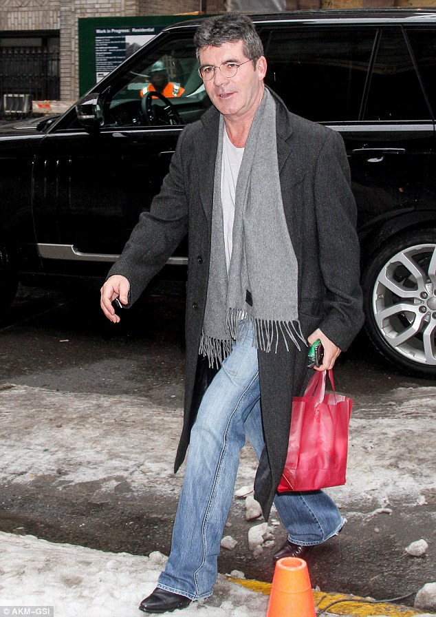 That's better! The 54-year-old music mogul looked to have gotten some rest overnight after looking a little worse for wear the previous day when he welcomed his baby boy