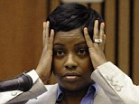 Carmen Beasley, one of the last people to see Renisha McBride alive, told a Detroit courtroom on Wednesday that the teenager had appeared scared and disoriented when she saw her on the early hours of November 2