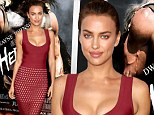 Red carpet goddess! Irina Shayk ensures all eyes are on her in a sheer skirt and plunging neckline at the Hercules premiere for her film debut