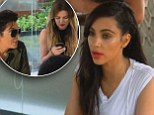 'You're a miserable person!' Kim and Khloe Kardashian get into a katty fight as Kendall and Kylie go missing on holiday from hell