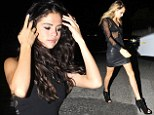 Feeling 22: Selena Gomez kicks off her 22nd birthday celebrations as she parties with new pal Cara Delevingne