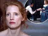 'Now kiss my shoe!' Jessica Chastain seduces Colin Farrell in sexy new trailer for their period drama Miss Julie