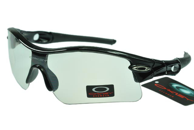 Wholesale Oakley Radar Sunglasses Beige Lens Black Frame