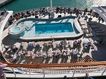 Decked: According to the law firm, cruises have topped their list of complaints for the past four years