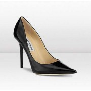 Jimmy Choo Alicia Patent Leather Heels Black
