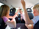 Music, children distracting the driver and squabbles over who sits where are top three reasons for family rows