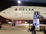 Emergency landing: A Delta Air Lines plane bound for New York returns to Israel due a problem with its wing