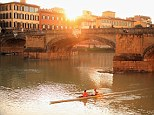 A river runs through it: Even in high summer, Florence can have its peaceful moments