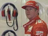 Hungary for more: Raikkonen has endured a difficult season on his return to Maranello