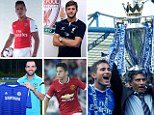 Countdown to kick-off: Chelsea look strong and are many people's favourites to win the title... at the moment