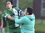 Yossi Benayoun was involved in Maccabi Haifa's match which had to be abandoned after pro-Palestinian protesters invaded the pitch