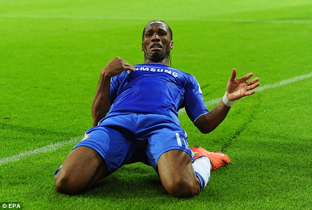 Return? Drogba was Chelsea's hero in the 2012 Champions League final win over Bayern Munich