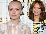 Bald move! Bates Motel actress Olivia Cooke shaves her head to play cancer patient in new film