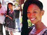 She's got the right idea! Brandy Norwood beats the heat in billowing dress... as brother Ray J still faces assault charges