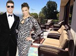 PICTURED: Inside Robin Thicke and Paula Patton's $3m former marital home, complete with expansive views and a rustic kitchen