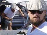 It's Captain Leo! Dicaprio sports seaman's beard as he embarks on voyage aboard his yacht in France