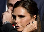 At the recent Wimbledon tennis championships, Victoria Beckham wore a £10,000 emeral-cut yellow diamon set in yellow gold