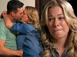 Tender moment: LeAnn Rimes cried on Thursday's episode of LeAnn And Eddie when husband Eddie Cibrian told her about a job decision