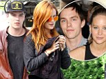 Split with Jennifer? Nicholas Hoult was reportedly seen cosying up to Riley Keough at No.8's Philo Prom party in New York City on Wednesday