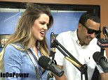On a special kind of fast: Khloe Kardashian revealed she and French Montana are abstaining from sex during the month of Ramadan during radio interview on Thursday