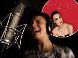 Peek at her new album? Ricki-Lee releases 15 second video of her singing in the recording studio