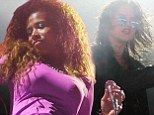 Simply Splendour! Sky Ferreira plus Angus and Julia Stone take grunge chic to the next level at Byron Bay gig while singer Kelis shows off her killer curves in purple dress