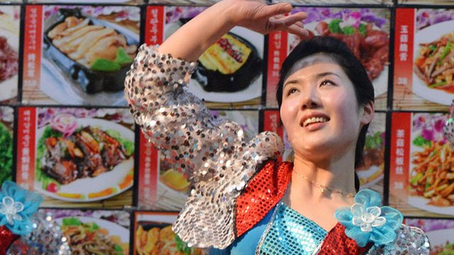 Waitress in Dandong