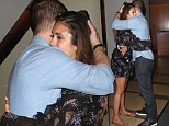 Just good friends? Nina Dobrev and Ben McKenzie share embrace at Comic Con bash - before leaving in a cab together