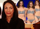 Brief mistake! Miss World Australia 2014 contestants sashay along the runway in copycat striped bikinis as burns survivor judge Turia Pitt looks for 'individuality'