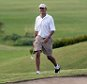 US President Barack Obama walks to 18th green as he plays golf at Mid-Pacific Country Club in Kailua, Hawaii, on January 1, 2014. The first family is in Hawaii for their annual winter vacation. AFP PHOTO/Jewel SAMAD        (Photo credit should read JEWEL SAMAD/AFP/Getty Images)