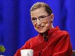 Well-wishes: Ginsburg told Zaretsky in her reply letter 'Every best wish for life's most important partnership'
